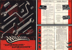 J.h. Williams And Co. Buffalo - Superwrench Catalogue 1947 Edition - 56 Pages