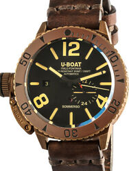 U-boat 8486/c Sommerso Bronze Automatic 46mm 30atm