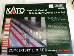 Kato N Scale New York Central 20th Century Limited 13 Car Set - 106-100