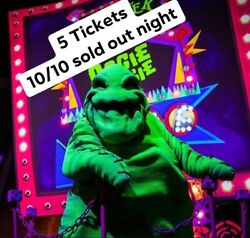 5 Oogie Boogie Bash 2021 Tickets - 10/10/2021 600 Pm At Disney California Park