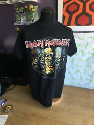 Official Iron Maiden T-shirt - Fruit Of The Loom Cotton Xl - Rock Heavy Metal
