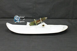 Used Aircraft Snow Ski Unknown Part Number A. For Parts Or Display.