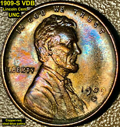 1909-s Vdb Lincoln Cent Mega-key Date Uncirculated Die Pair 4