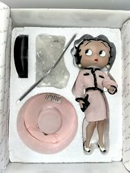 Betty Boop Sophistication Danbury Mint Syd Hap With Coa And Box