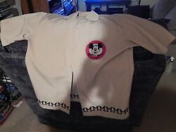 Mickey Mouse Club Bowling Shirt Disney Button Up Menand039s Large