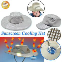 Uv Protection Arctic Caps - Cooling Mesh Foldable Outdoor Travel Fishing Hat Us