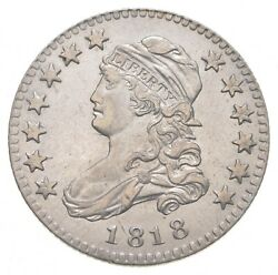 1818 Capped Bust Quarter - Circulated 0512