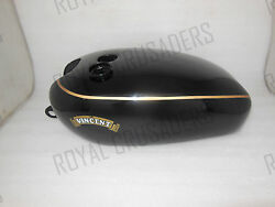 Brand New Vincent Black Painted Petrol Tank @pummy Guaranteed