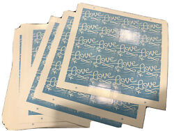2000 Usps Love Skywriting Forever Stamps. Sheets Of 20 Sealed Book Of 2000 Sale