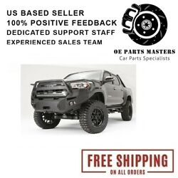 Fab Fours Tt16-b3650-1 For 2016-2017 Toyota Tacoma Premium Winch Front Bumper