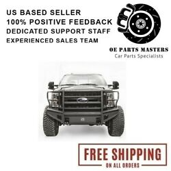 Fab Fours Fits 17-18 Ford F-250/350 Sd Elite Front Ranch Bumpers - Fs17-q4162-1