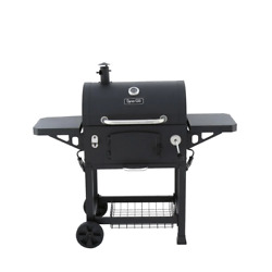 Dyna-glo Heavy Duty Charcoal Grill Grease Pan Removable Ash Catcher Freestanding