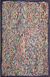 Antique American Hooked Rug 4and03910 X 3and0390