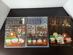 South Park Dvd Lot. Seasons 1, 18, And 20