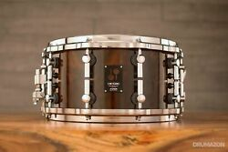 Sonor One Of A Kind 14 X 7 Beech Snare Drum Pacfic Walnut Burl With Case