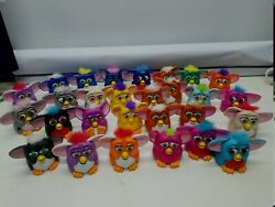 Vintage Furby Mcdonald's Happy Meal Toys 1998 Tiger Electronics Lot Of 28