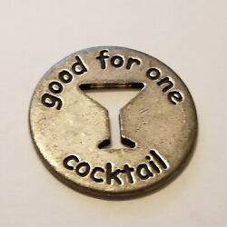 Happy Hour Token - Good For One Cocktail