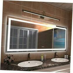 Led Bathroom Vanity Mirror 72x32 Large Shatter-proof Dimmable Mirrors 32x 72