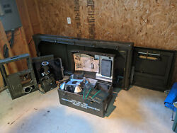 Picker Portable Military X-ray 1957, Vietnam, Trunk, X-ray Head, And Tables