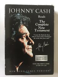 Johnny Cash Reads The Complete New Testament New King James Version 16 Cds 1990