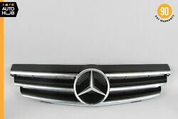 03-09 Mercedes W209 Clk350 Clk55 Front Radiator Hood Grille Grill Assembly Oem