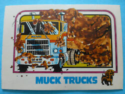Original Vintage Collectible Mack Truck 1976 1977 1970s Trading Card Ad Parts