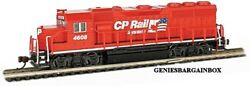 N Scale Canadian Pacific Dcc And Sound Equipped Gp40 Locomotive Bachmann New 66353