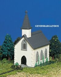 N Scale Country Church, Built-up Ready To Use Bachmann New 45815