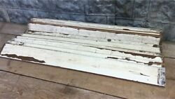 Reclaimed Wainscoting Bead Board Pieces Architectural Salvage Vintage A12