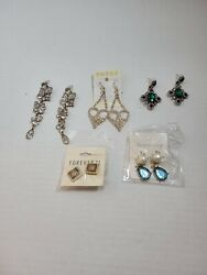 New 5pairs Forever21 Mixed Stud Drop Earrings Gift Fashion Women Party Jewelry