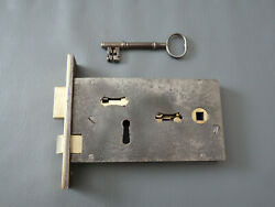 Antique Reclaimed And Reconditioned I Young Palace Motion Mortice Lock With Key