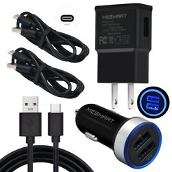 Fast Charging For Samsung Galaxy S10 S9+ S8+a70 A60 A51 A20 Led Car Wall Charger