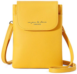 Aeeque Leather Cell Phone Purse Small Crossbody Bags for Women Shoulder Bag $31.16