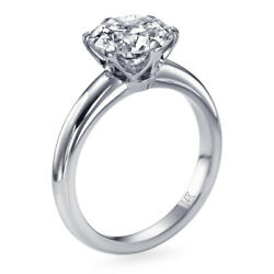 6550 1 Ct Diamond Engagement Ring 14k White Gold Solitaire I2 D 51870001