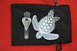Steel Flame 3d Silver Arch Angel Wings Bronze Crusader Shield 3 Hole Dragon Tail