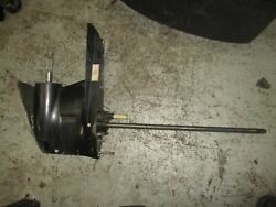 Mercury Efi 150hp Outboard Lower Unit With 25 Shaft