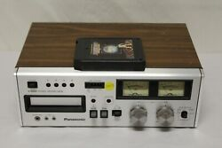 Panasonic Rs-808 8 Track Stereo Tape Deck Works Great B3