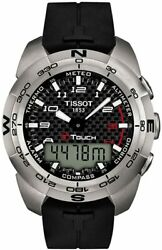 Tissot Menand039s T0134204720200 T-touch Expert Watch