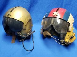 Us Army Vietnam Era Helicopter Painted Flight Helmet Named Grouping Aph-5 Pilot