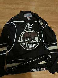 Rare Holtby Autographed Ccm Hershey Bears Ahl Hockey Jersey Chocolate Home L