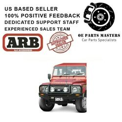 Arb Deluxe Bull Bar Fits 1985-on Land Rover Defender 90,110,130 - 3432300