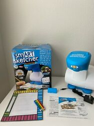 Smart Sketcher Projector Learn To Draw, Blue/white 2018 Toy Of The Year Tested