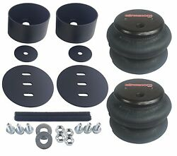 Air Ride Suspension Rear 2600 Air Bags And Brackets For 1964-72 Chevelle Gm A-body