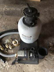 Hayward W3s166t1580s Above Ground Pool Pro Series 1hp Sand Filter Pump System