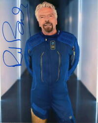 Richard Branson Signed Autograph 8x10 Photo - First Commercial Astronaut Rare