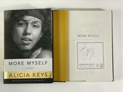 Alicia Keys Signed Autograph More Myself A Journey Book - Girl On Fire Singer