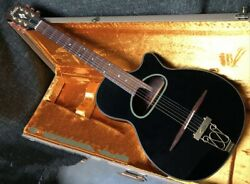Used 1990s Greco Fdk-90 Limited Edition Black Maccaferri D Hole W/chip Board Cas