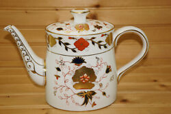 Royal Crown Derby Asian Rose 8687 Teapot, 5 3/4, With Lid