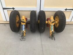 Eurocopter As350 Helicopter Factory Hydraulic Ground Handling Wheels