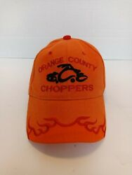 Orange County Choppers Hat. Orange,red And Black